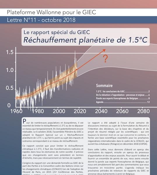 Plateforme Wallonne Giec Lettre D Information